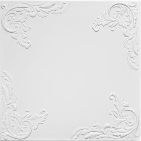 1 qm | Deckenplatten | XPS | formfest | Hexim | 50x50cm | Nr.101