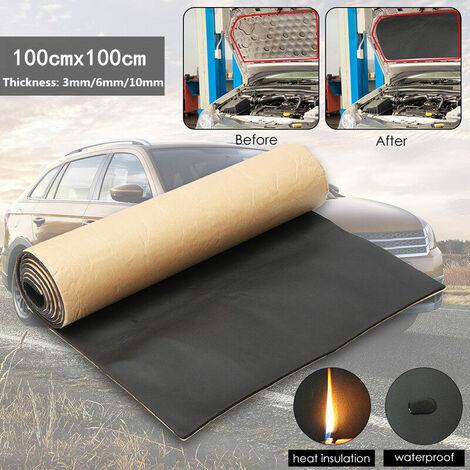 1 rouleau 6mm voiture insonorisation amortissement voiture camion Anti-bruit isolation phonique coton chaleur à cellules fermées mousse
