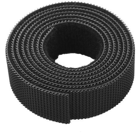 1 Rouleau Reutilisable Cable De Fixation Organisateur Multi-Usage Les Attaches De Cable Cordon Corde Cables Crochet Et Boucle En Nylon De Fixation Ruban Sangles Cable, 1M