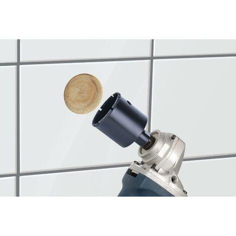 1 sierra de corona Diamant Ceramic para amoladora angular, rosca M 14 45 mm Wolfcraft Ø 20 mm