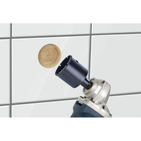 1 sierra de corona Diamant Ceramic para amoladora angular, rosca M 14 45 mm Wolfcraft Ø 35 mm