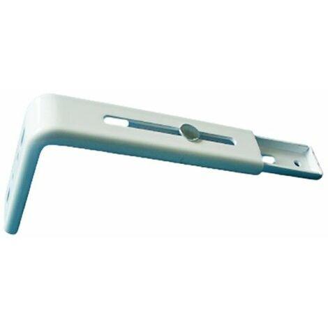 1 Support Extensible pour Tringle Rail de 110/160 mm