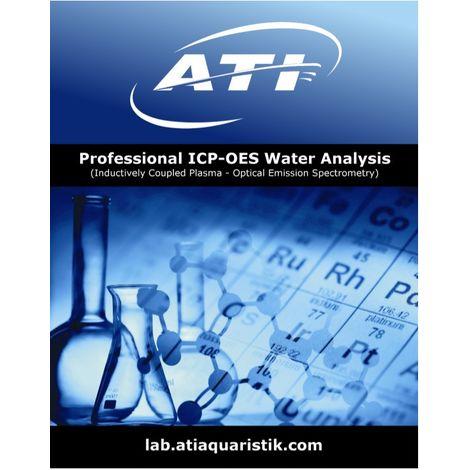 1 Test ICP-OES Profi Wasseranalyse für Ihr Aquarium