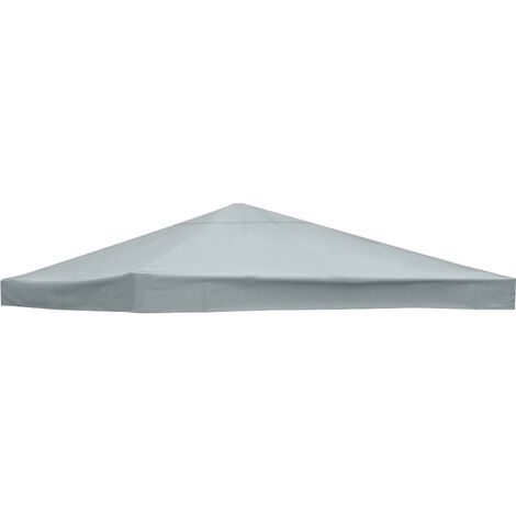 1-Tier Replacement Top Fabric for 3x3m Gazebo Pavilion Roof Canopy