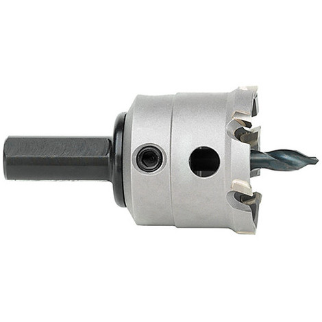 1 trépan métal dur D. 75 x Lt. 67,5 x Lu. 22 mm x Q. Héx - 71010000750 - Hepyc - -