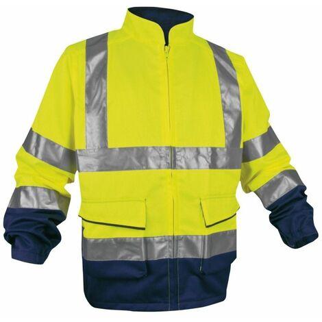(1 VESTE ORANGE TXL) Veste haute visibilité ORANGE - Taille XL