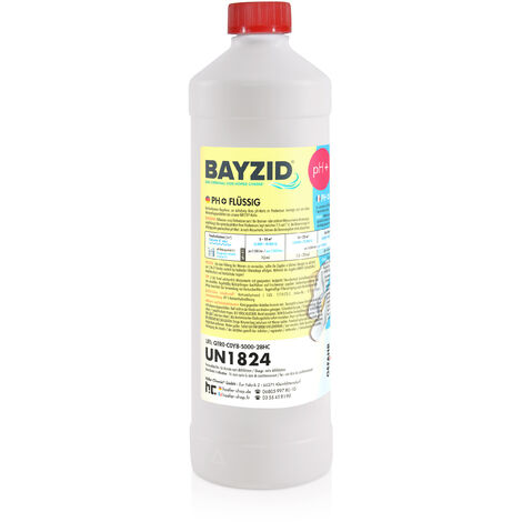 1 x 1 kg 1 Kg Bayzid® pH plus liquide