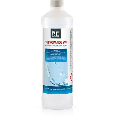 1 x 1 Litre Alcool isopropylique 99,9 %