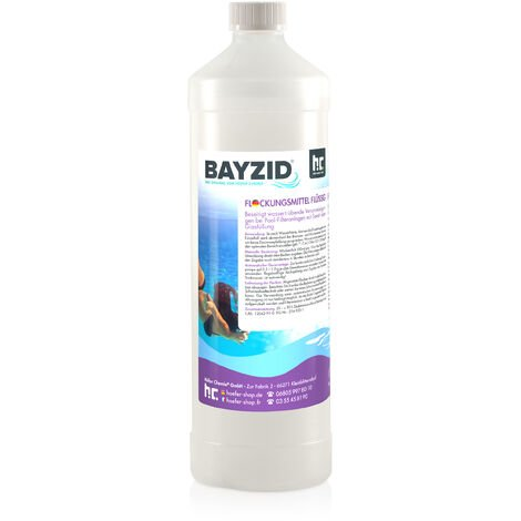 1 x 1 Litre Bayzid® Floculant liquide