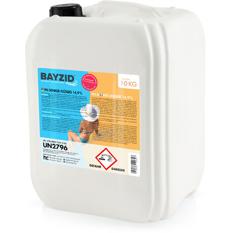 1 x 10 kg Bayzid pH moins liquide 14,9%
