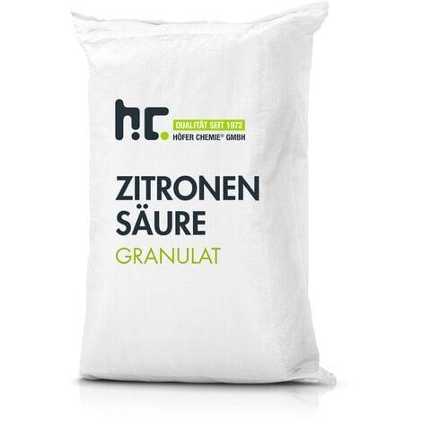 1 x 25 kg Acide citrique