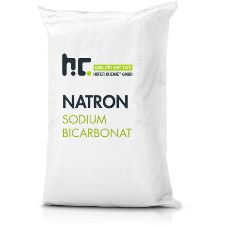 1 x 25 kg de bicarbonate de sodium en qualité alimentaire