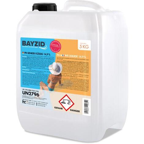1 x 5 kg Bayzid pH moins liquide 14,9%
