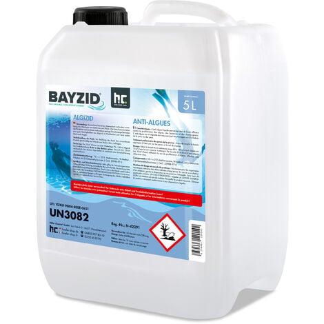 1 x 5 Litre BAYZID® Anti-algues