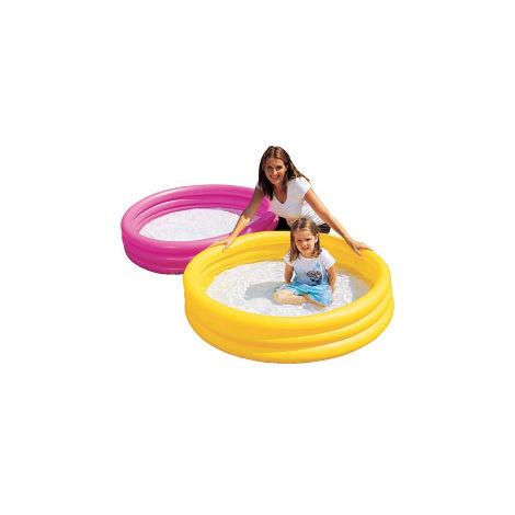 1 x Bestway 3-Ring Childrens Paddling Pool - 122cm x 25cm