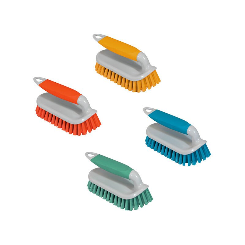Image of 1 x Multi Purpose Hand Scrubbing Brush - Ideal for Cleaning Carpets / Floors