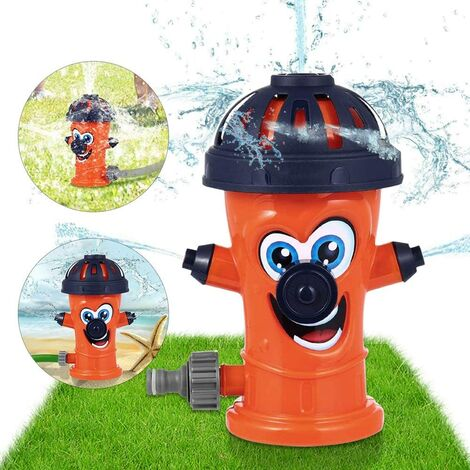 1 x toy; sprinkler, sprinkler for outdoor garden, toy; water for swimming pool, garden, lawn, game; outdoor (pot; fire)