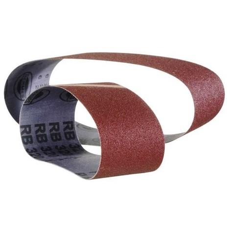 10 bande ponceuse portative rb32220 corindon 75 x 533 grain 120