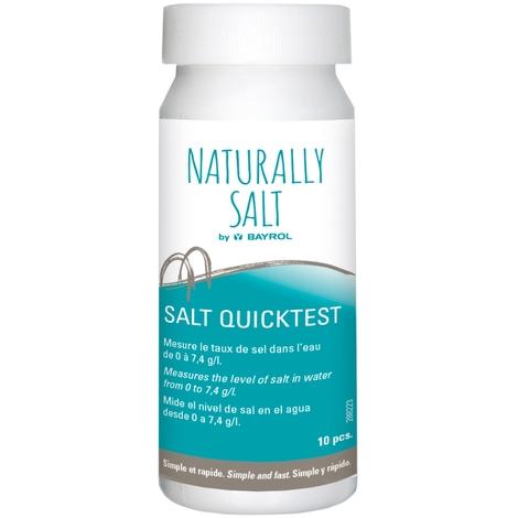 10 bandelettes pour mesurer le taux de sel dans l'eau - Bayrol 288223