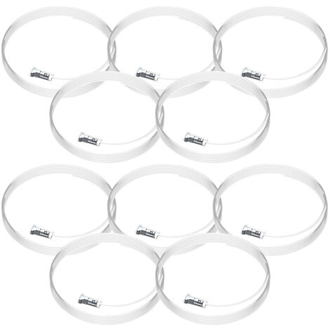 10 câbles perlon Twister Cliq2Fix Artiteq - 100 cm