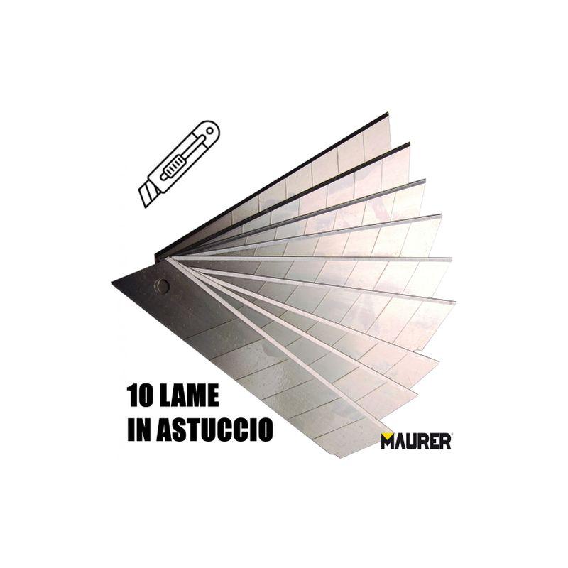 10 X 10 Pz Lame A Spezzare /'Professionali/' Mm 18 Cf