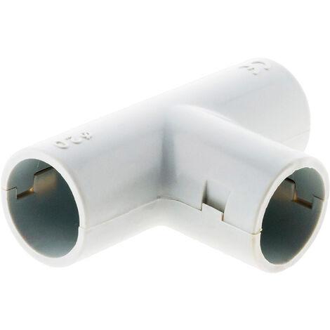 10 derivaciones T para tubos - ?20 mm- Zenitech
