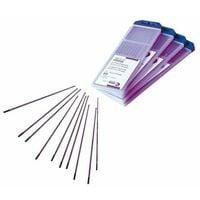 10 electrode tungstene pour soudage tig - lanthane 1.5 % - diam. 1.6 mm