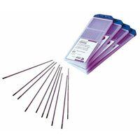 10 electrode tungstene pour soudage tig - pur - diam. 1.6 mm -