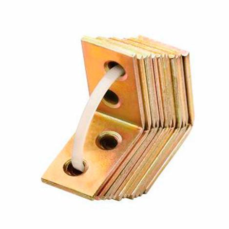 10 équerres bichromatées, chaises en maxipack 10 unités 75 x 75 x 18 mm - SCMX070718 - Index