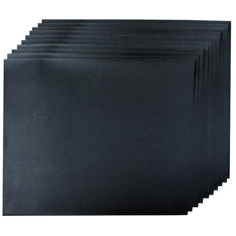 10 feuilles abrasives pour ponçage sec ou humide Choix du modèle Grain 600
