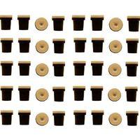 10 jeux de 4 Buses céramique noires pour Pistolet Sableuse 38-76L : 3mm