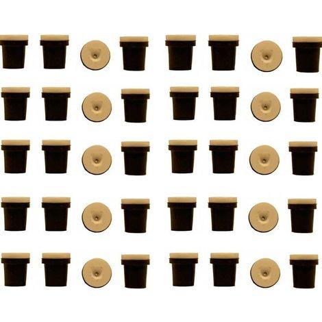 10 jeux de 4 Buses céramique noires pour Pistolet Sableuse 38-76l à jet libre