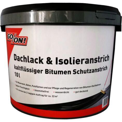10 Liter Go/On Dachlack & Isolieranstich