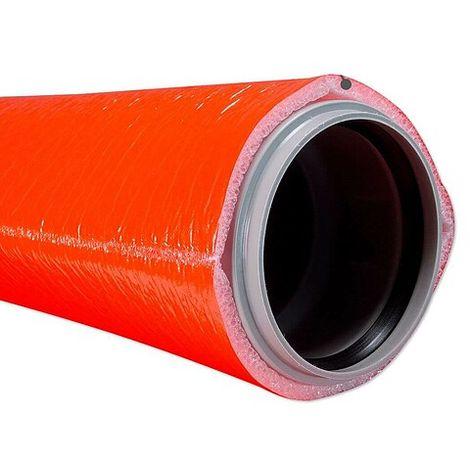 10 m Abwasser-Schutzschlauch für 100 mm Rohr - Dämmschichtdicke 9 mm