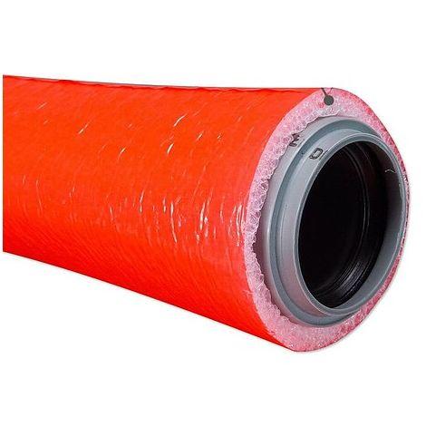 10 m Abwasser-Schutzschlauch für 50 mm Rohr - Dämmschichtdicke 9 mm