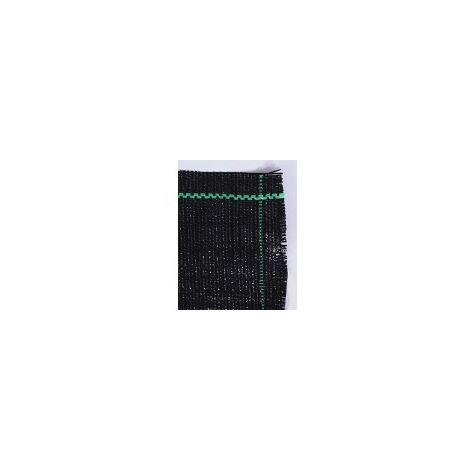 10 m Antihierbas 100grs/m2 (Anchura: 1 metro - Color: Verde/Negro - Largo del rollo: 10 metros)