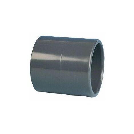 10 Manchons PVC pression femelle-femelle O32