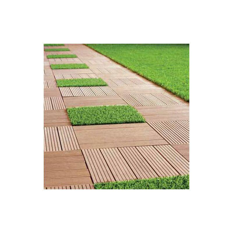 Pavimento Esterno Per Giardino.10 Mattonelle 30x30 Pavimento Prato Moquette Esterno Giardino Piscina Piastrelle