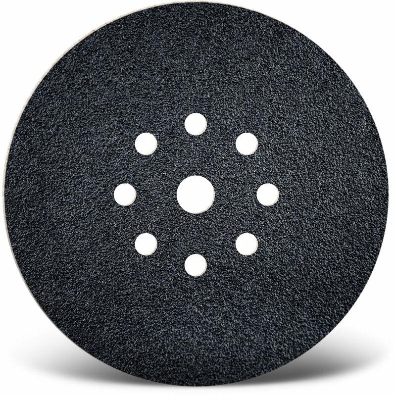 10 MENZER Klett-Schleifscheiben Trockenbauschleifer 225 mm 9-Loch K16-36