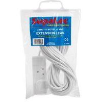 10 Meter Extension Lead SupaLec 13 Amp Extension Lead 2 Gang 10m