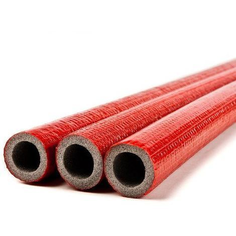 10 meters of 18mm extra strong pipe foam insulation lagging wrap 6mm thick