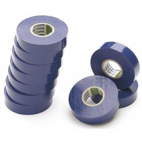 PVC auto-extinguible ALTERNATIVE ELEC AE40110 Ruban adhesif isolant vert 15mmX10m pack de 10