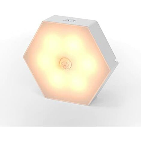 """main image of """"10 Ones Design LED Night Light,Motion Sensor Night Light Indoor Battery Operated,Wall Light Stick on Anywhere Lamp for Bedroom,Kitchen,Hallway,Cabinet,Closet,Stairs,Bathroom"""""""