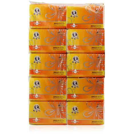 "main image of ""10 Packs Tissue Paper Towels NapkinsPumps Soft Tissue-friendly Toilet Paper,model: 10 packs"""