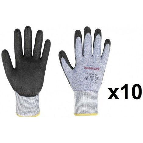 10 paires de Gants enduit PU Vertigo HONEYWELL - plusieurs modèles disponibles
