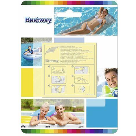 10 patchs de réparation pour liner de piscine hors d'eau Bestway