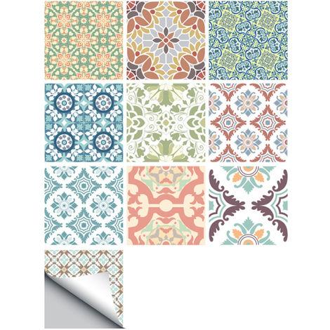 10 PC / sistema, auto-adhesivo Azulejos Stickers, Arte Adhesivos, 2 #