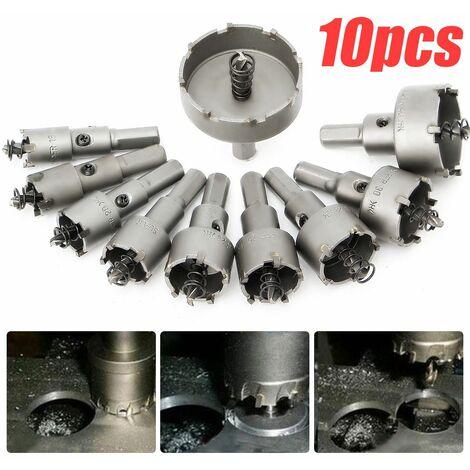 12-100 mm HSS Titane Foret Trou Scie en acier inoxydable alliage métallique Cutter