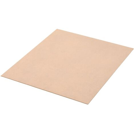 10 pcs MDF Sheets Square 60x60 cm 2.5 mm