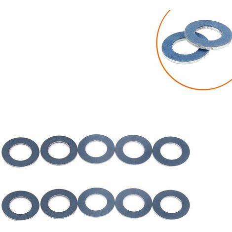 10 Pcs Rondelles Plates Inox Assortiment de Rondelles Plates Accessoires de Boulon Tailles 9043012031 Empêcher Desserrage d'écrou Outils de Quincaillerie